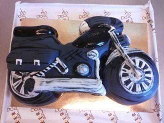 Motiv-Torten Motorrad
