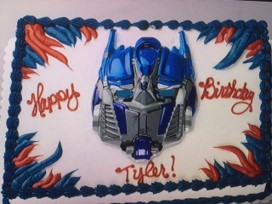 Transformers Torte
