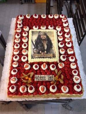 captain jacks sparrow Torte